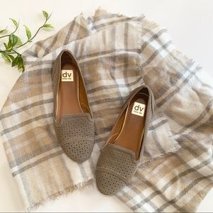 Dolce Vita Suede Brown Loafer Flats